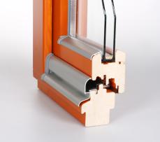 Dřevěná okna - profil